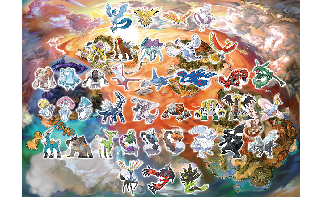 Every Single Legendary Pokemon Will Be Catchable In Pokemon Ultra Sun And Ultra Moon